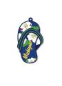 Michigan Flip Flop Keychain