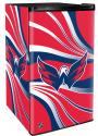 Washington Capitals Red Counter Height Refrigerator