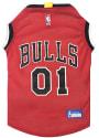 Chicago Bulls Basketball Pet Jersey