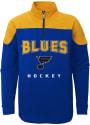 St Louis Blues Youth Prospect Quarter Zip - Blue