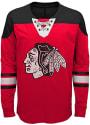 Chicago Blackhawks Youth Perennial Crew Sweatshirt - Red