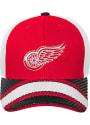 Detroit Red Wings Youth Defender Adjustable Hat - Red