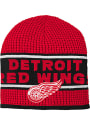 Detroit Red Wings Youth Enforcer Knit Hat - Red