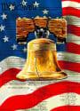 Philadelphia 28x40 Applique Sleeve USA Banner