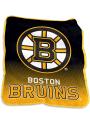 Boston Bruins Team Logo Raschel Blanket
