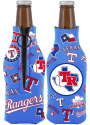 Texas Rangers 2-Sided Flashback Bottle Coolie