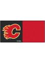 Calgary Flames 18x18 Team Tiles Interior Rug
