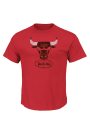 Majestic Chicago Bulls Red Post Up Tee