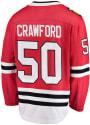 Corey Crawford Chicago Blackhawks Breakaway Hockey Jersey - Red