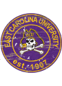 East Carolina Pirates Established Date Circle 24 Inch Sign