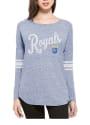 47 Kansas City Royals Womens Neps Blue LS Tee