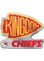 Kansas City Chiefs Kingdom Car Emblem - Red