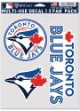 Toronto Blue Jays Triple Pack Auto Decal - Blue