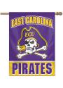 East Carolina Pirates Typeset 28x40 Banner