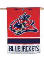 Columbus Blue Jackets Reverse Retro Logo Banner