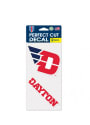 Dayton Flyers 4x4 2 Pack Auto Decal - Red