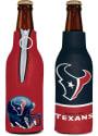 Houston Texans Zipper Bottle Coolie