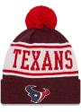 Houston Texans New Era M KNITBANNER B3 Knit - Navy Blue