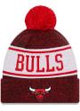 Chicago Bulls New Era Banner Knit - Red