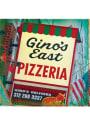 Chicago Ginos East Pizzeria Stone Tile Coaster