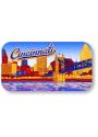 Cincinnati Skyline Crystal Magnet