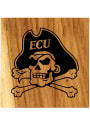 East Carolina Pirates Barrel Stave Bottle Opener Coaster