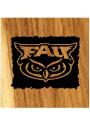 Florida Atlantic Owls Barrel Stave Bottle Opener Coaster