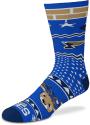 St Louis Blues Holiday Cheer Crew Socks - Blue