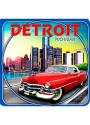 Detroit Coaster Magnet