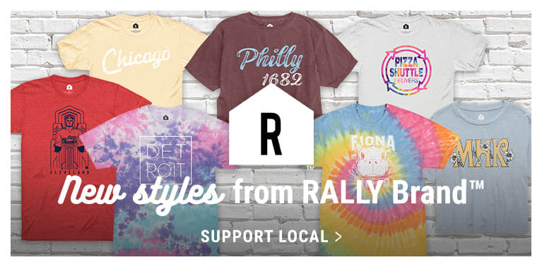 Support Local - Shop Rally Brand