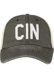 Cincinnati Raggs Meshback Adjustable Hat - Black