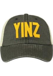 Pittsburgh Raggs Meshback Adjustable Hat - Black