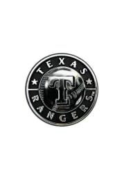 Sports Licensing Solutions Texas Rangers Plastic Car Emblem - Silver
