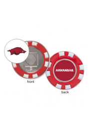 Arkansas Razorbacks Poker Chip Golf Ball Marker