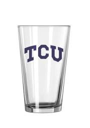 TCU Horned Frogs Wordmark Pint Glass
