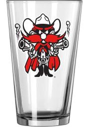 Texas Tech Red Raiders vintage Raider logo Pint Glass