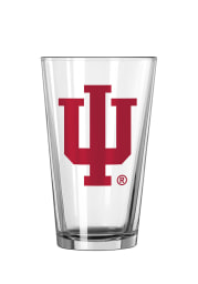Indiana Hoosiers Logo Pint Glass