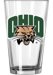 Ohio Bobcats Primary Logo Pint Glass