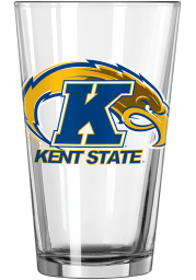 Kent State Golden Flashes Primary Logo Pint Glass