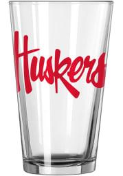 Nebraska Cornhuskers Logo Value Pint Glass