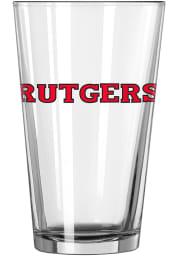 Rutgers Scarlet Knights Logo Value Pint Glass