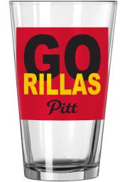 Pitt State Gorillas Logo Value Pint Glass