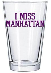 K-State Wildcats I Miss Manhattan 16oz Pint Glass