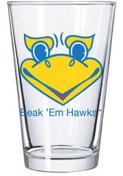 Kansas Jayhawks Beack em Hawks 16oz Pint Glass