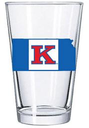 Kansas Jayhawks Game Flag 16oz Pint Glass
