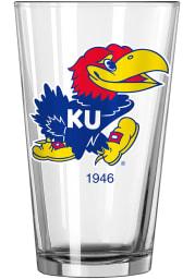 Kansas Jayhawks 1946 16oz Pint Glass