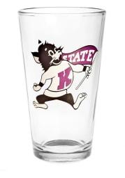 K-State Wildcats Mascot 16oz Pint Glass