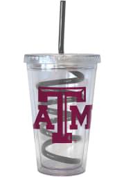Texas A&M Aggies 16oz Swirl Straw Straw Tumbler