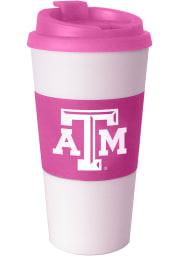 Texas A&M Aggies 16oz Pink Travel Tumbler
