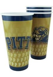 Pitt Panthers 32oz 4pk Tailgate Cups